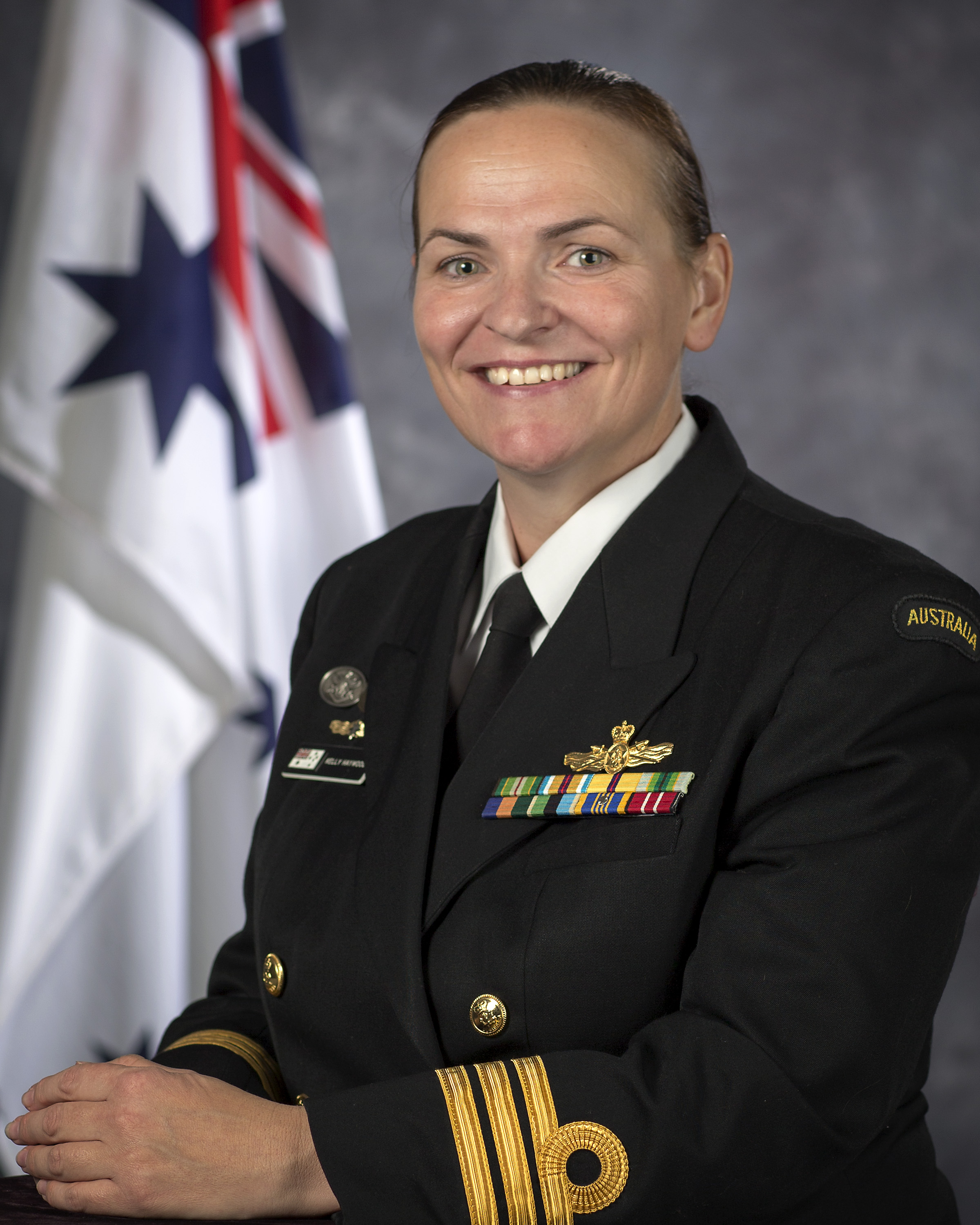 Commander Kelly Haywood, RAN