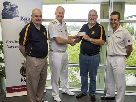 Steaming ahead with charitable donations